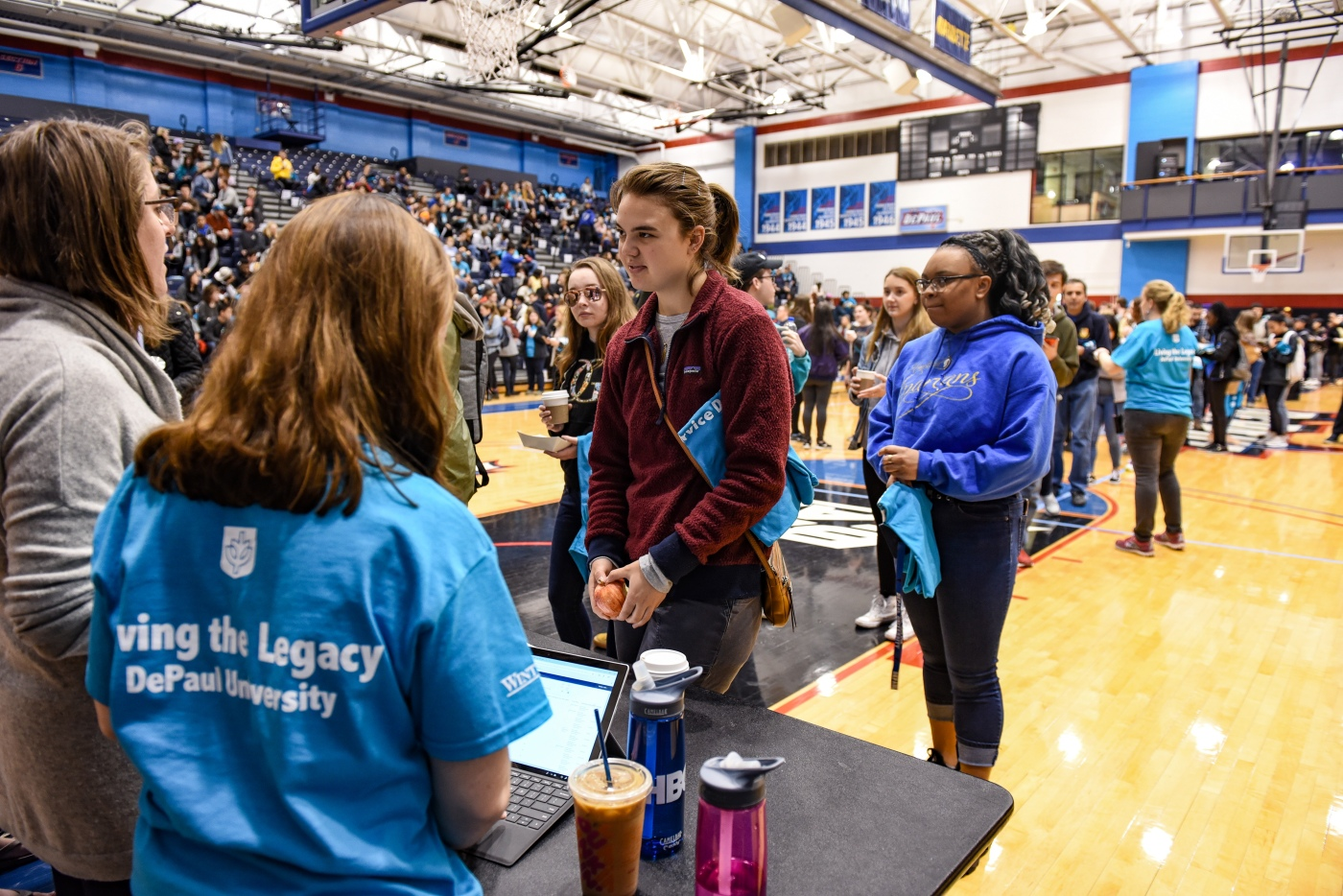 DePaul Community Steps Up for Students in Need