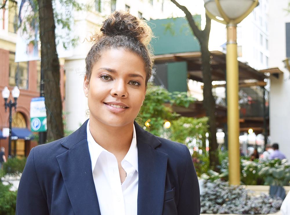 Student Spotlight: Nikki Childers, J.D. Candidate '20 - Blue
